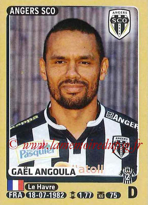2015-16 - Panini Ligue 1 Stickers - N° 029 - Gaël ANGOULA (SCO Angers)