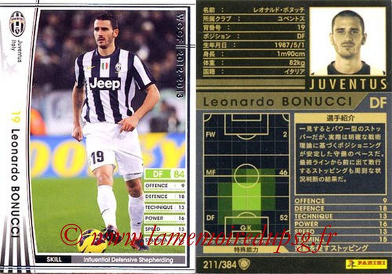 2012-13 - WCCF - N° 211 - Leonardo BONUCCI (Juventus FC)
