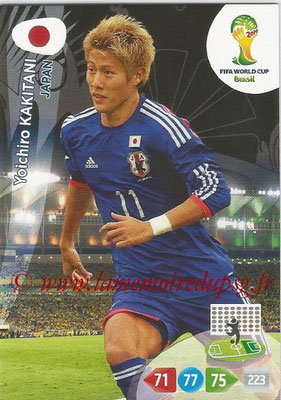 2014 - Panini FIFA World Cup Brazil Adrenalyn XL - N° 231 - Yoichiro KAKITANI (Japon)