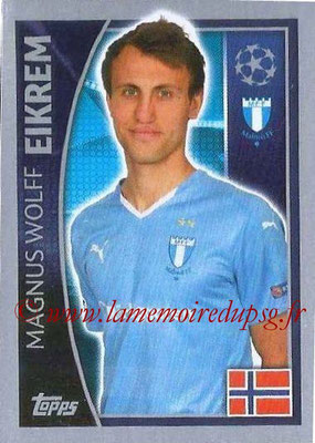 2015-16 - Topps UEFA Champions League Stickers - N° 070 - Magnus Wolff EIKREM (Malmö FF)