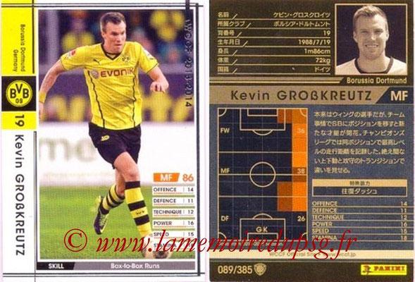 2013-14 - WCCF - N° 089 - Kevin GROBKREUTZ (Borussia Dortmund)
