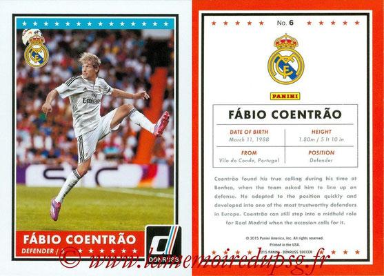 2015 - Panini Donruss Soccer - N° 006 - Fabio COENTRAO (Real Madrid CF)