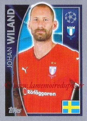 2015-16 - Topps UEFA Champions League Stickers - N° 063 - Johan WILAND (Malmö FF)