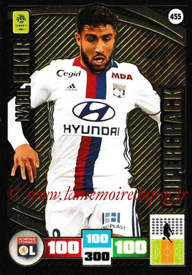 2016-17 - Panini Adrenalyn XL Ligue 1 - N° 455 - Nabil FEKIR (Lyon) (Supercrack)