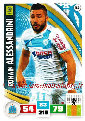 2016-17 - Panini Adrenalyn XL Ligue 1 - N° 169 - Romain ALESSANDRINI (Marseille)