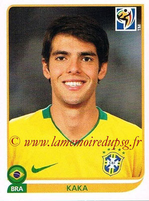 2010 - Panini FIFA World Cup South Africa Stickers - N° 499 - KAKA (Brésil)