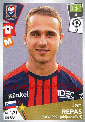 2017-18 - Panini Ligue 1 Stickers - N° 092 - Jan REPAS (Caen)