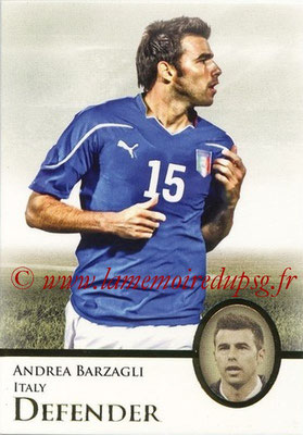 2013 - Futera World Football Unique - N° 013 - Andrea BARZAGLI (Italie) (Defender)