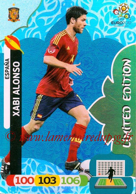 Panini Euro 2012 Cards Adrenalyn XL - N° LE19 - Xabi ALONSO (Espagne) (Limited Edition)