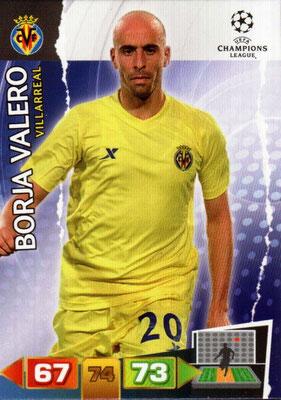 2011-12 - Panini Champions League Cards - N° 262 - Borja VALEJO (Villarreal)