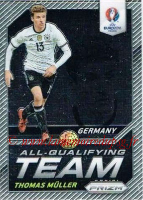 Euro 2016 Panini Prizm - N° AQ-11 - Thomas MÜLLER (Allemagne) (All-Qualifying Team)
