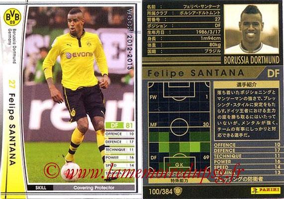 2012-13 - WCCF - N° 100 - Felipe SANTANA (Borussia Dortmund)