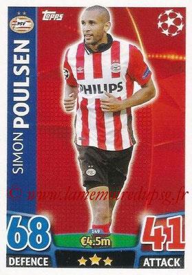 2015-16 - Topps UEFA Champions League Match Attax - N° 149 - Simon POULSEN (PSV Eindhoven)