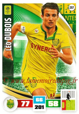 2016-17 - Panini Adrenalyn XL Ligue 1 - N° 257 - Léo DUBOIS (Nantes)
