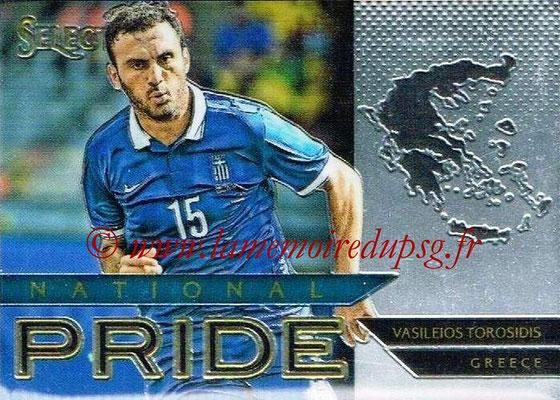 2015 - Panini Select Soccer - N° NP22 - Vasileios TOROSIDIS (Grèce) (National Pride)