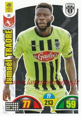 2018-19 - Panini Adrenalyn XL Ligue 1 - N° 021 - Ismaël TRAORE (Angers)