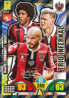 N° 438 - Christophe JALLET (2009-14, PSG > 2018-19, Nice) (Trio Infernal)