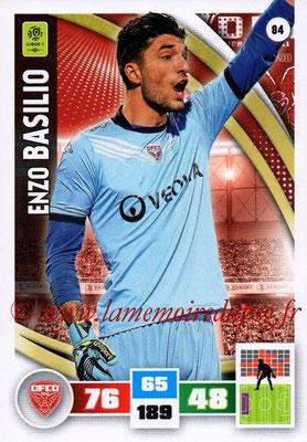 2016-17 - Panini Adrenalyn XL Ligue 1 - N° 084 - Enzo BASILIO (Dijon)