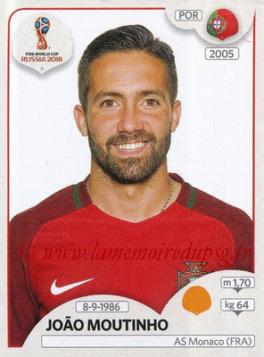 2018 - Panini FIFA World Cup Russia Stickers - N° 121 - Joao MOUTINHO (Portugal)