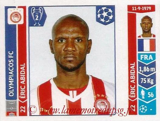 2014-15 - Panini Champions League N° 076 - Eric ABIDAL (Olympiakos FC)