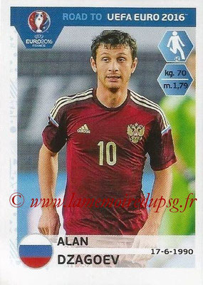 Panini Road to Euro 2016 Stickers - N° 268 - Alan DZAGOEV (Russie)