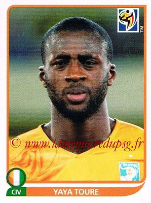 2010 - Panini FIFA World Cup South Africa Stickers - N° 534 - Yaya TOURE (Côte d'Ivoire)