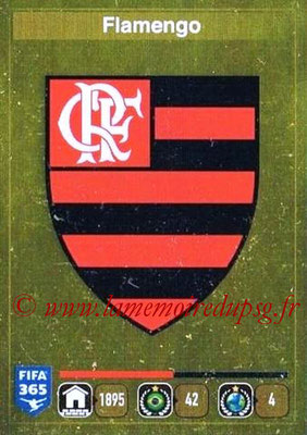 2015-16 - Panini FIFA 365 Stickers - N° 191- Ecusson CR Flamengo