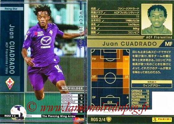 2013-14 - WCCF - N° RGS2 - Juan CUADRADO (ACF Fiorentina) (Rising Star)