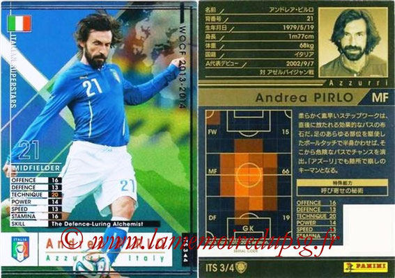 2013-14 - WCCF - N° ITS3 - Andrea PIRLO (Italie) (Italian Superstar)