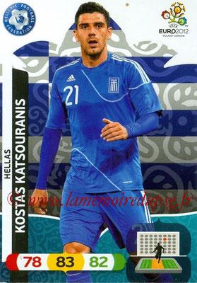 Panini Euro 2012 Cards Adrenalyn XL - N° 096 - Kostas KATSOURANIS (Grèce)