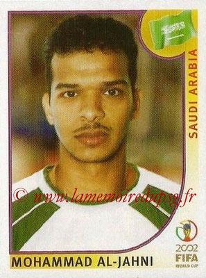 2002 - Panini FIFA World Cup Stickers - N° 338 - Mohammad AL-JAHNI (Arabie Saoudite)