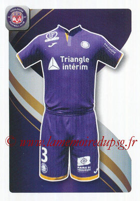 2018-19 - Panini Ligue 1 Stickers - N° 499 - Maillot Toulouse