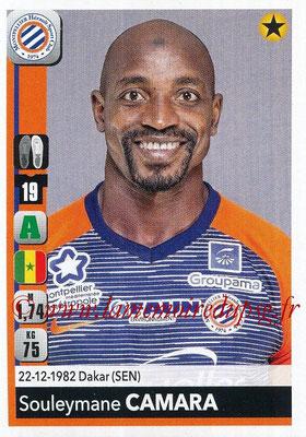 2018-19 - Panini Ligue 1 Stickers - N° 267 - Souleymane CAMARA (Montpellier)