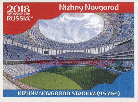 2018 - Panini FIFA World Cup Russia Stickers - N° 012 - Nizhny Novgorod Stadium, Nizhny Novgorod (Stades et Villes)
