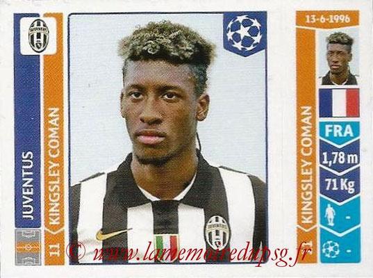 2014-15 - Panini Champions League N° 070 - Kingsley COMAN (Juventus Turin)