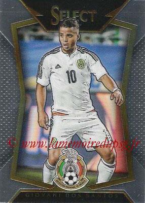 2015 - Panini Select Soccer - N° 088 - Giovani DOS SANTOS (Mexique)