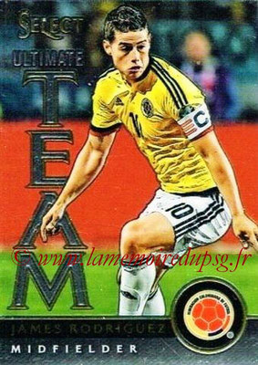 2015 - Panini Select Soccer - N° UT12 - James RODRIGUEZ (Colombie) (Ultimate Team)