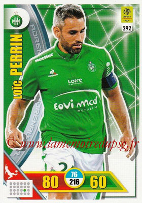 2017-18 - Panini Adrenalyn XL Ligue 1 - N° 292 - Loic PERRIN  (Saint-Etienne)
