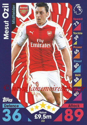 2016-17 - Topps Match Attax Premier League - N° 032
