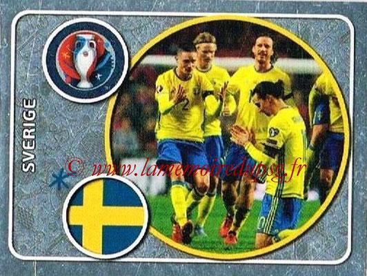 Panini Euro 2016 Stickers - N° 463 - Équipe de Suède
