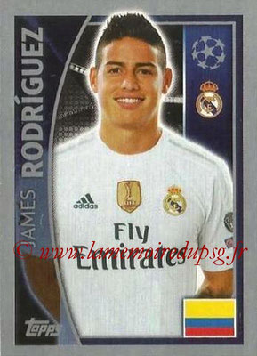 2015-16 - Topps UEFA Champions League Stickers - N° 041 - James RODRIGUEZ (Real Madrid CF)