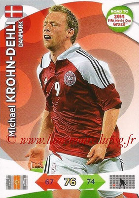 2014 - Panini Road to FIFA World Cup Brazil Adrenalyn XL - N° 041 - Michael KROHN-DEHLI (Danemark)
