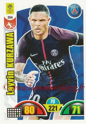 2018-19 - Panini Adrenalyn XL Ligue 1 - N° 254 - Layvin KURZAWA (Paris Saint-Germain)