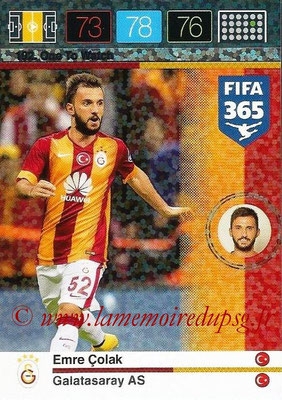 2015-16 - Panini Adrenalyn XL FIFA 365 - N° 192 - Emre COLAK (Galatasaray AS) (One to Watch)