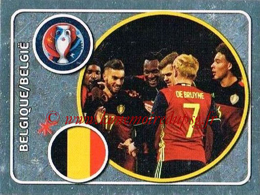 Panini Euro 2016 Stickers - N° 457 - Équipe de Belgique