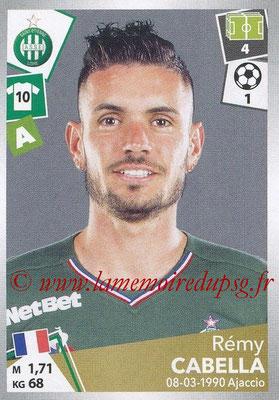 2017-18 - Panini Ligue 1 Stickers - N° 432 - Rémy CABELLA (Saint-Etienne)