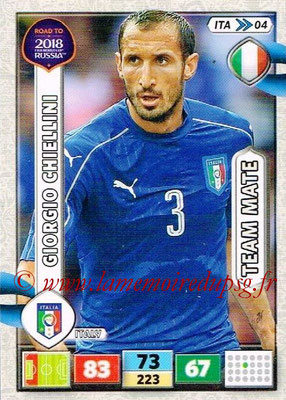 2018 - Panini Road to FIFA World Cup Russia Adrenalyn XL - N° ITA04 - Giorgio CHIELLINI (Italie)