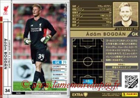 2015-16 - Panini WCCF - N° EXT20 - Adam BOGDAN (Liverpool FC) (Extra)
