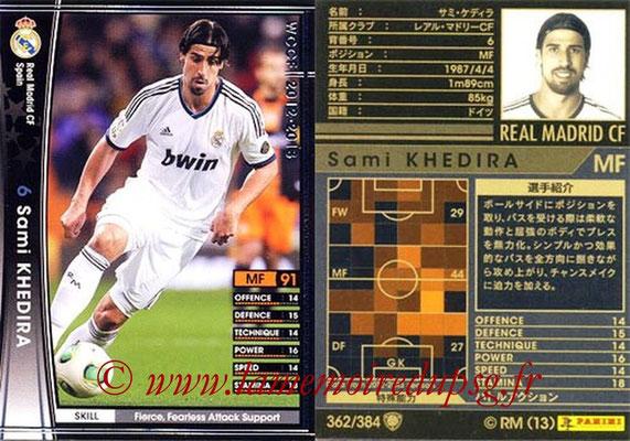 2012-13 - WCCF - N° 362 - Sami KHEDIRA (Real Madrid CF)