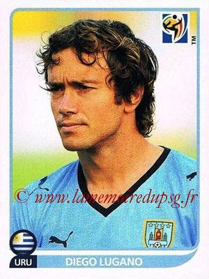 2010 - Panini FIFA World Cup South Africa Stickers - N° 071 - Diego LUGANO (Uruguay)